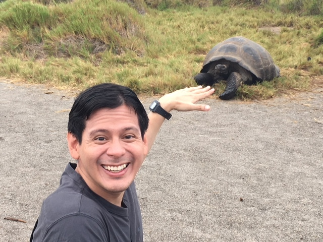The Galapagos Report – Day Four – Getting a Manicure from a Giant Tortoise